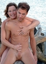 With a hungry eagerness amatuer naturists fully gets fucked on a hot sand