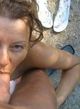 Adult relaxed nudists fucks on the beach