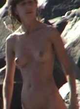 Naked model heals her sexy body in the sun at Nude Beach Dreams